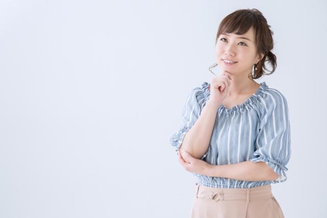 Businessについて考える女性