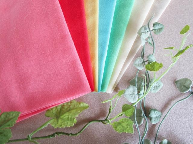 パーソナルカラーの布のイラスト